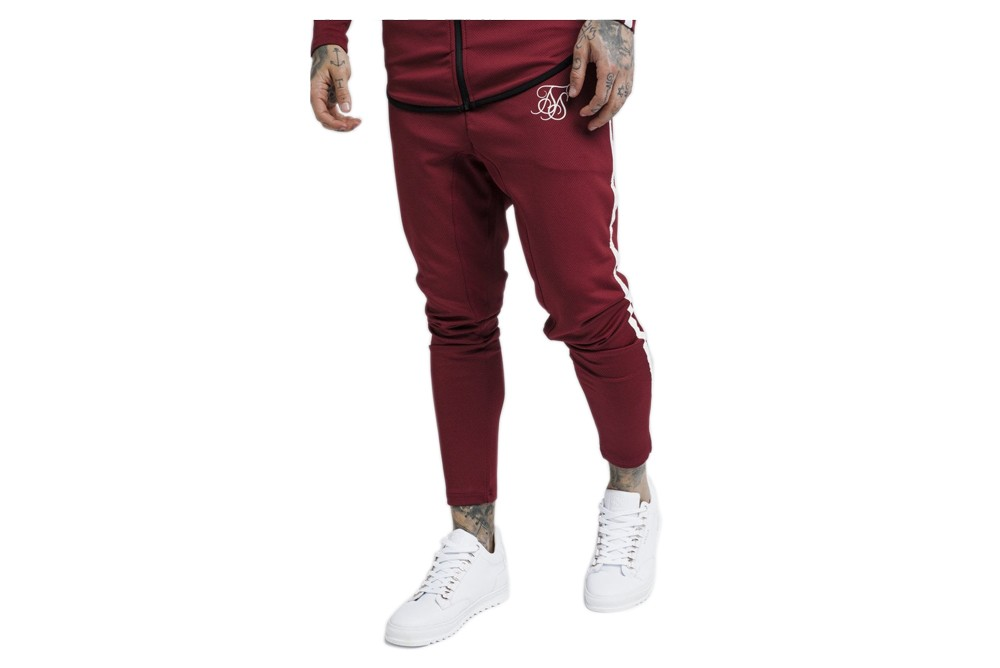Pants SikSilk tech athlete track pants ss 13814 Brutalzapas
