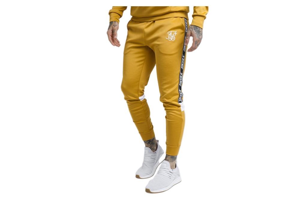 Pants SikSilk crop poly tape ss 14338 Brutalzapas