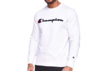 Sudadera Champion crewneck sweatshirt 212942 wht Brutalzapas