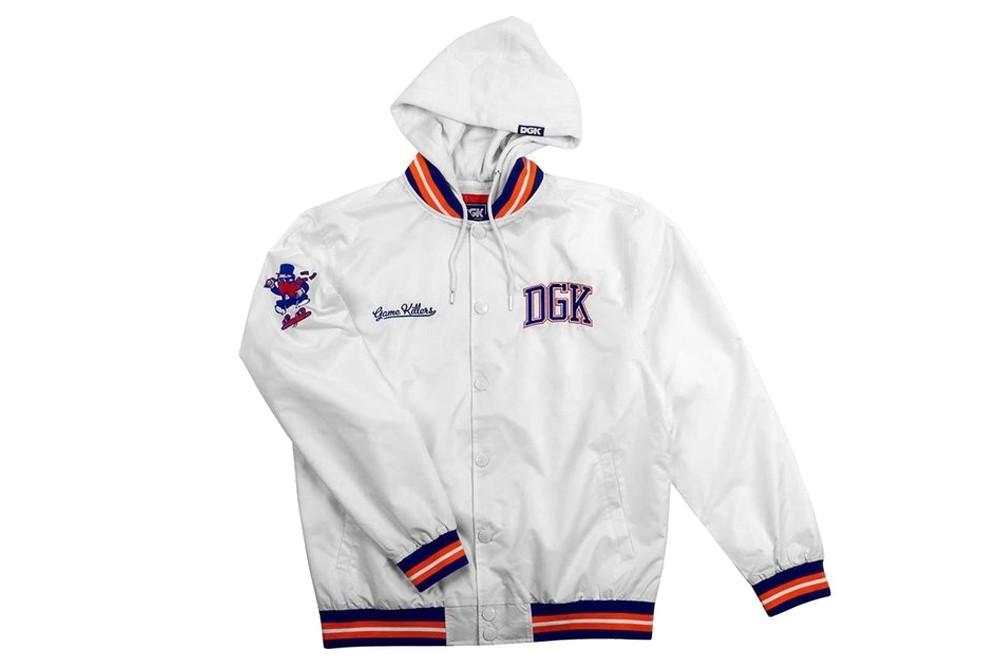 Jacket DGK hood jacket game killer DJT 219 Brutalzapas