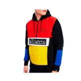 Sweatshirts Ellesse Italia legno 12 zip hoody shc07433 black Brutalzapas