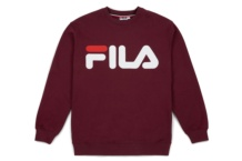 Sweatshirts Fila Classic logo 680431 tawny port Brutalzapas