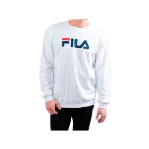 Sweatshirts Fila unisex classic pure crew sweat 681091 bright white Brutalzapas