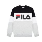 Sweatshirts Fila straight blocked crew 681255 Brutalzapas