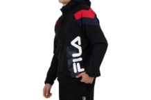 Jacket Fila Tru faux lambswool lined jacket 684418 black Brutalzapas