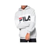 Sweatshirts Fila blocked hoody 687001 grey Brutalzapas