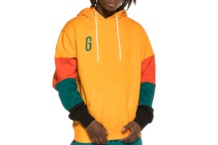 Sweatshirt GRIMEY midnight hoodie gch322 orange Brutalzapas