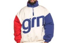 Chaqueta GRIMEY flmboyant pullover jacket GPVJ106 white Brutalzapas