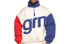 Jacket GRIMEY flmboyant pullover jacket GPVJ106 white Brutalzapas