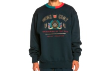 Sweatshirts GRIMEY engineering of the gods gsw444 navy Brutalzapas
