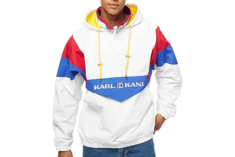 Jacket Karl Kani retro block windbreaker 6084457 Brutalzapas