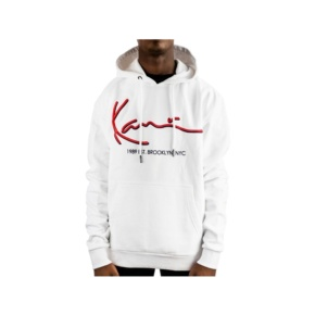 Sweatshirt Karl Kani kk signature 6091820 white red Brutalzapas