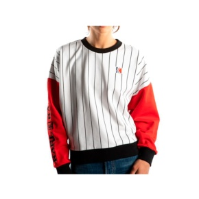 Sweatshirt Karl Kani kk retro block 6120691 white red Brutalzapas