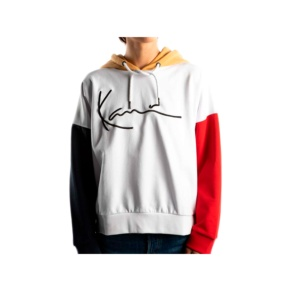 Sweatshirts Karl Kani kk signature 6121860 white blue Brutalzapas
