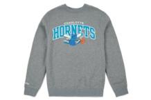 Sweatshirts Mitchell & Ness crew charlotte hornets Brutalzapas