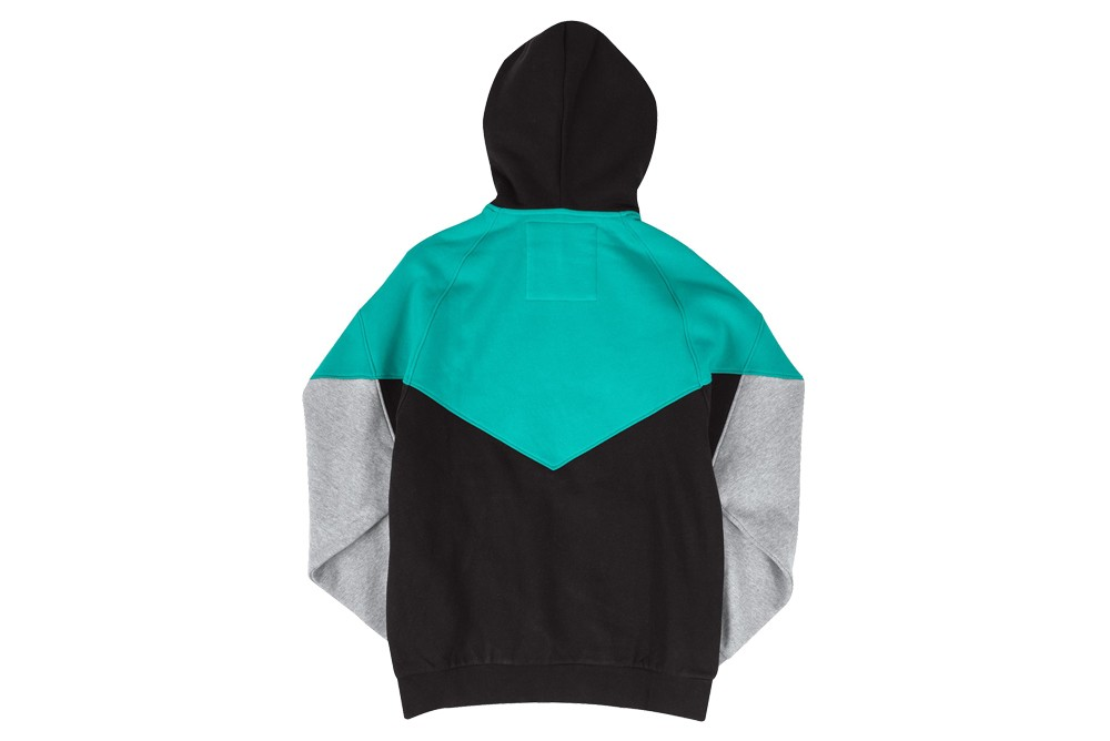 Mitchell & Ness TRADING BLOCK HOODY V GRIZZ