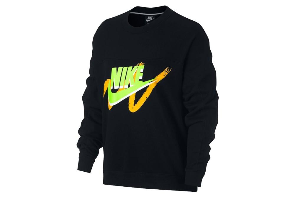 Sudadera Nike w nsw archv crew 932126 013 Brutalzapas