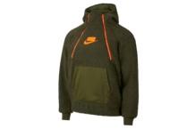 Sudadera Nike W nsw hoodie po sherpa AJ7284 395 Brutalzapas