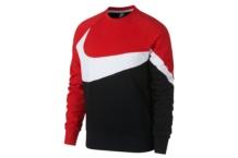 Sweatshirts Nike w nsw hbr crw ft stmt ar3088 010 Brutalzapas