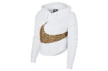 Sweatshirts Nike w nsw hoodie crop anml av6166 121 Brutalzapas