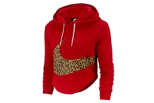 Sweat-Shirt Nike w nsw hoodie crop anml av6166 657 Brutalzapas