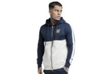 Sweatshirts SikSilk cut and sew zip hoodie ss 13720 Brutalzapas