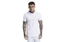 Camiseta SikSilk overhead hoodie ss 14216 Brutalzapas