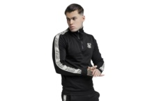 Sweatshirts SikSilk 14 zip runner top ss 14256 Brutalzapas