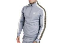 Sweatshirt SikSilk funnel neck ss 15340 Brutalzapas