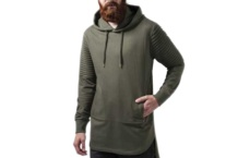 Sudadera Urban Classic pleat sleeves terry hilo tb1414 olive Brutalzapas