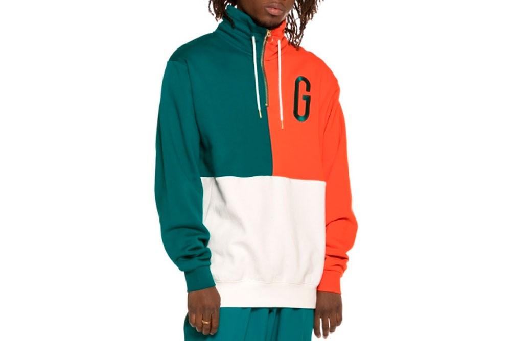 Sweatshirts GRIMEY midnight g logo hi neck sweash gnsw319 green Brutalzapas