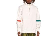Sweatshirts GRIMEY midnight g logo hi neck sweatshirt gnsw320 white Brutalzapas
