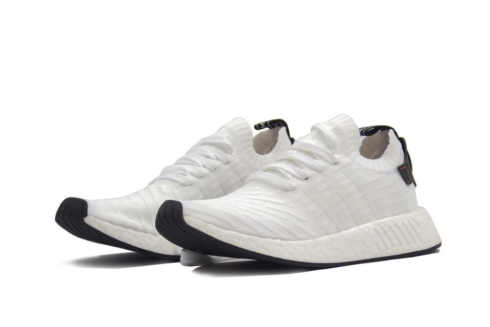 Adidas NMD R2 Olijfgroen/Zwart BA7198