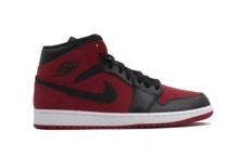 Baskets Nike Air Jordan 1 Mid 554724 610 Brutalzapas