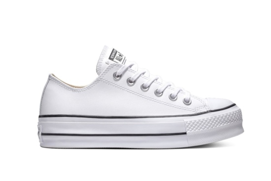159161b46f0ad Sneakers Converse chuck taylor all star lift clean leather 561680c  Brutalzapas