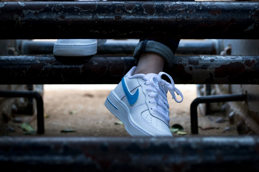 c0d01cbd183 Sneakers Nike air force 1 3 gs av6252 102 - Nike