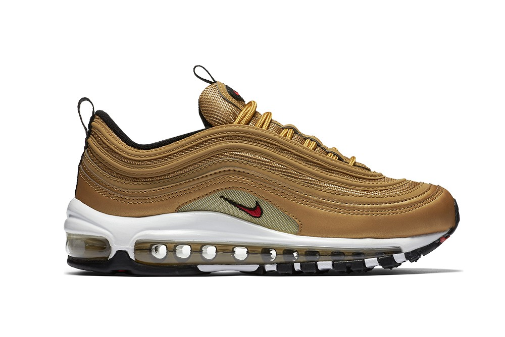 Sneakers Nike W Air Max 97 OG QS Metallic Gold 885691 700 Brutalzapas