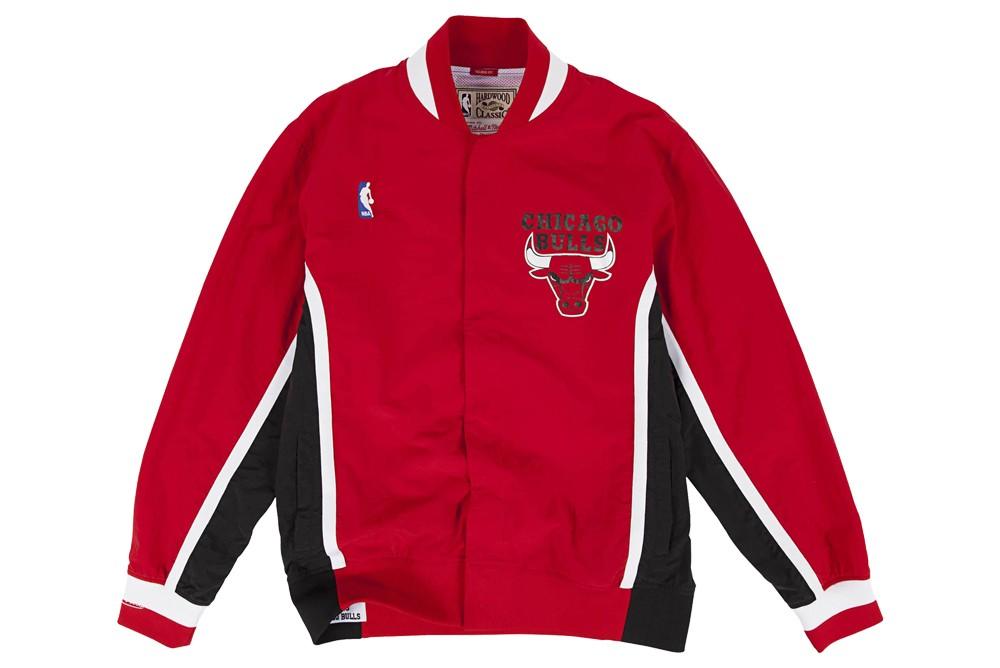 Jacket Mithcell &Ness nba authentic warmup jacket chicago bulls 1992 93 Brutalzapas