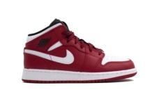 Sapatilhas Nike Air Jordan 1 Mid BG 554725 605 Brutalzapas