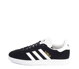 Ref: 3776 Adidas serraje negro con detalles en piel blanco. Cordones al tono y blancos de repuesto - Ítem3