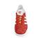 Ref: 3777 Adidas serraje rojo con detalles en piel blanco. Cordones al tono y blancos de repuesto. - Ítem2