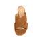 Ref: 3787 Sandalia ante cuero con pala cruzada y tacón de 6 cm. Sin plataforma delantera. - Ítem2