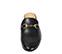 Ref. 3790 Babucha piel negro con detalle metalico dorado. - Ítem3