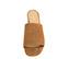 Ref: 3792 Sandalia ante cuero con pala lisa. Altura tacón 6 cm y sin plataforma delantera. Detalle elástico interior. - Ítem2
