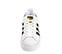 Ref. 3797 Adidas Superstar Bold piel blanca con simbolo en piel negro. Cordones blancos. Plataforma de 3 cm. - Ítem2