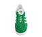 Ref. 3798 Adidas Gazelle serraje verde con detalles en piel blanco. Cordones blancos de repuesto. - Ítem2