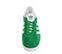 Ref. 3798 Adidas Gazelle serraje verde con detalles en piel blanco. Cordones blancos de repuesto. - Ítem3