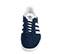 Ref: 3801 Adidas Gazelle serraje azul marino. Con detalles en piel blanca. Cordones al tono y blancos de repuesto. - Ítem2