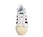 Ref: 3802 Adidas Superstar piel blanca con detalles en verde y granate. Cordones blancos. - Ítem2