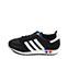 Ref: 3809 Adidas L.A Trainer serraje negro con detalles en piel blanco. Botones tricolor en la suela. Cordones negros. - Ítem3
